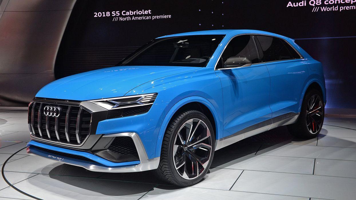 (q8) 2017 audi cars concept suv wallpaper