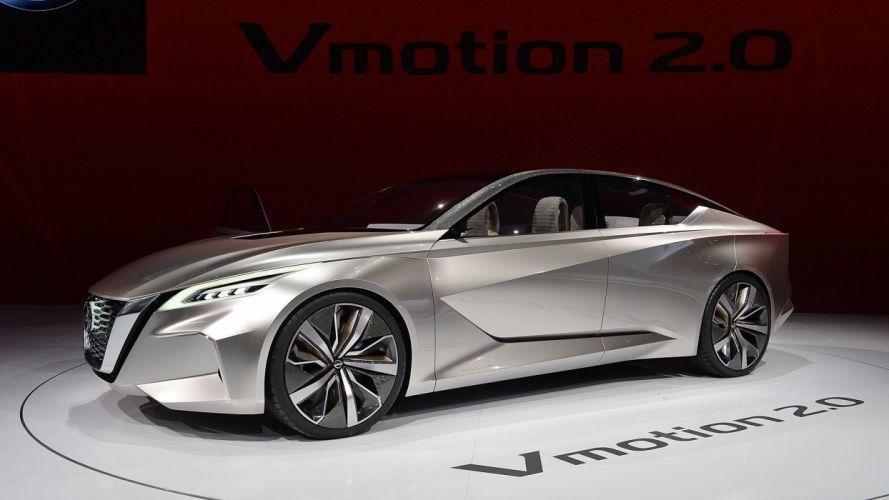 NIssan Vmotion (2 0) concept Concept cars 2017 wallpaper