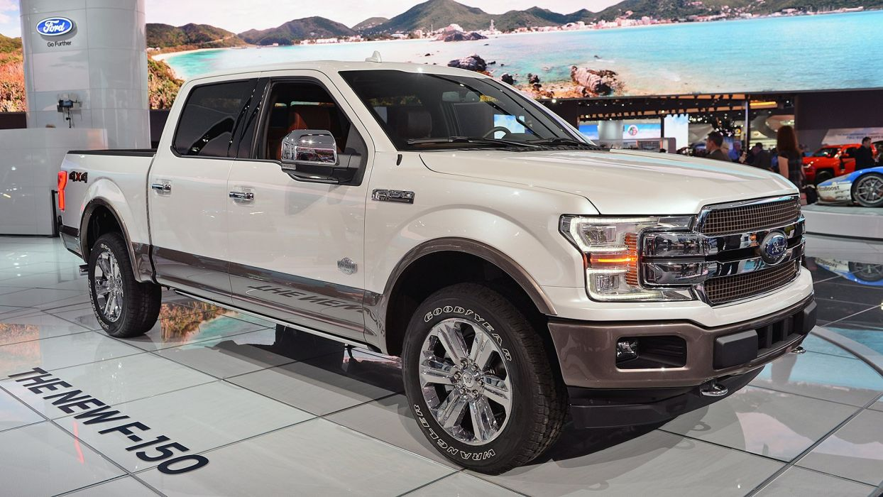 Ford F-150 truck pickup 4x4 2017 wallpaper