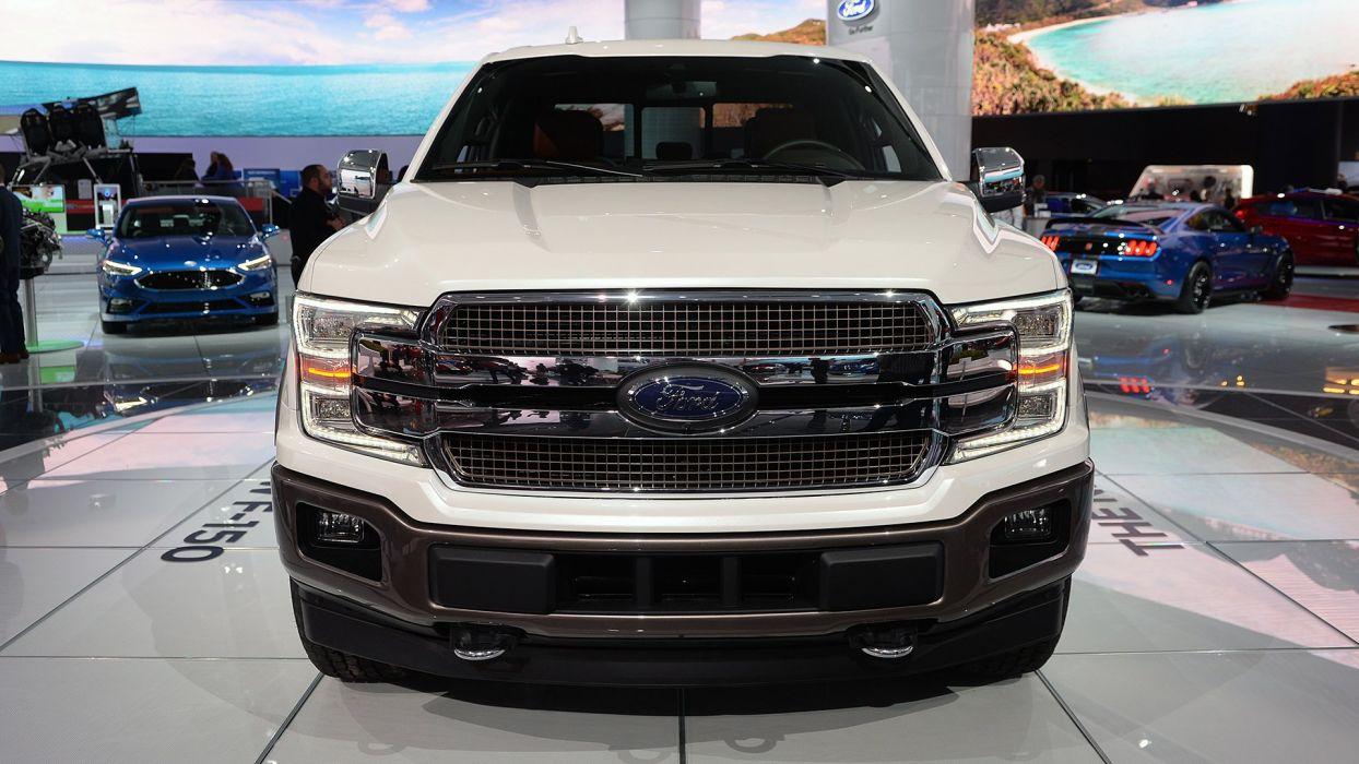 Ford F-150 truck pickup 4x4 2017 wallpaper