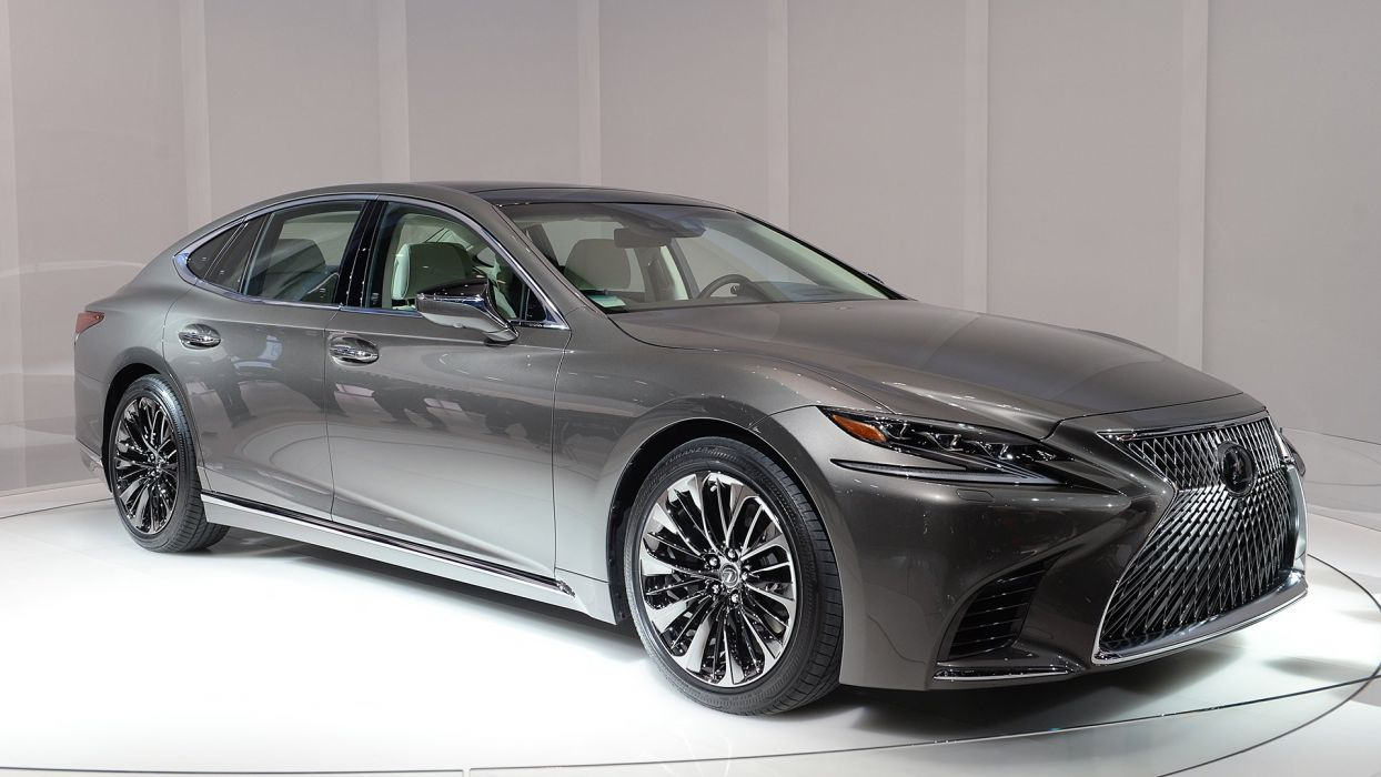 Lexus LS500 cars sedan 2017 wallpaper
