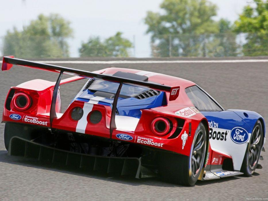 Ford GT GTLM Race Car wallpaper