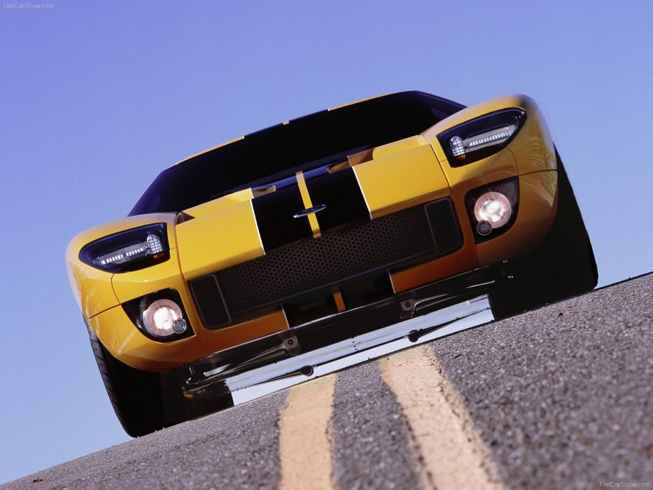 Ford GT40 Concept 2002  wallpaper