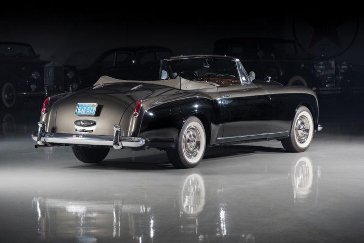 Bentley (S1) Continental Drophead Coupe Park Ward cars classic 1955 wallpaper