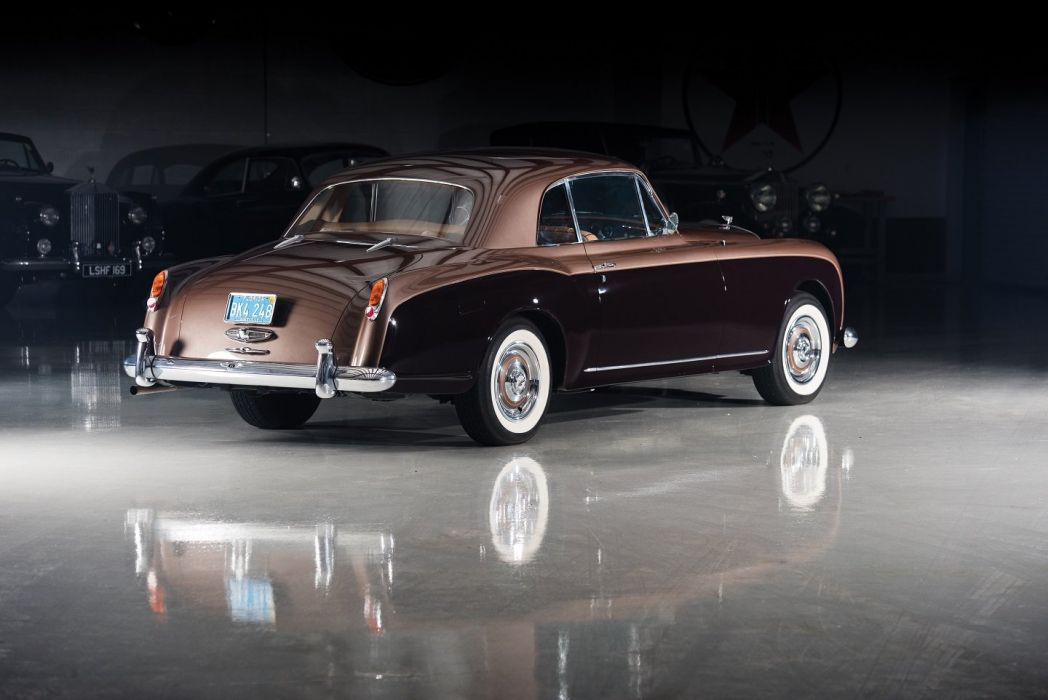 Bentley ( S1) Continental Sports Coupe Park Ward cars classic 1955 wallpaper