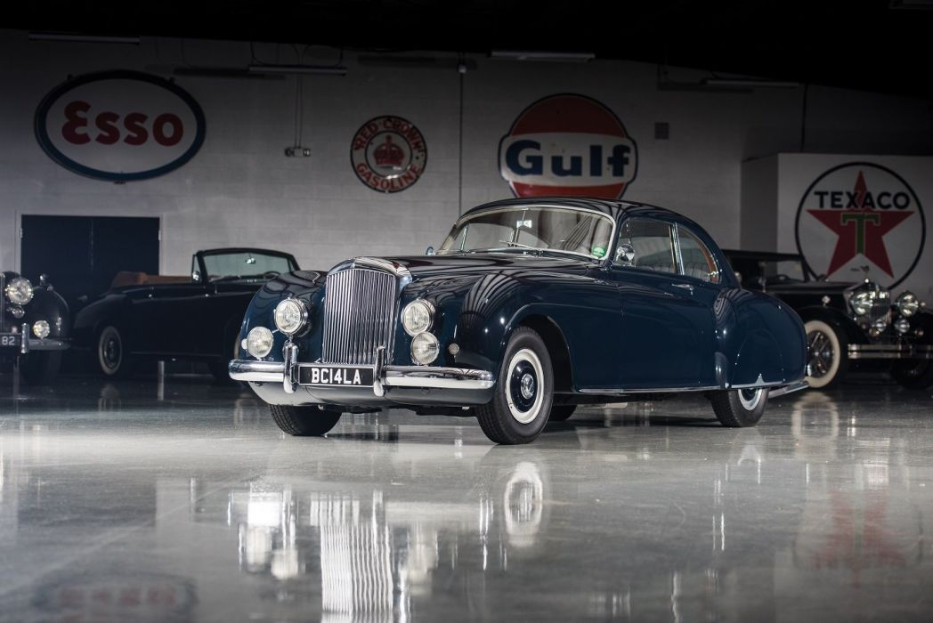 Bentley R-Type Continental Sports Saloon Mulliner LHD cars classic 1953 wallpaper