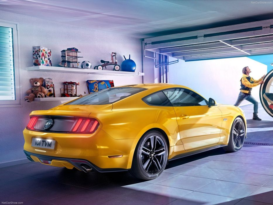 Ford Mustang GT 2015 wallpaper
