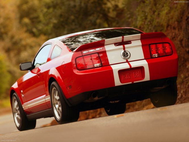 Ford Mustang Shelby GT500 2007 wallpaper
