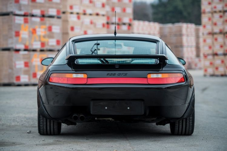 Porsche 928 GTS cars black 1991 wallpaper