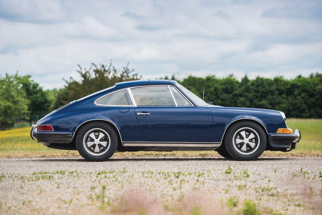 1972 Porsche 911 (S) (2 4) Coupe cars blue wallpaper