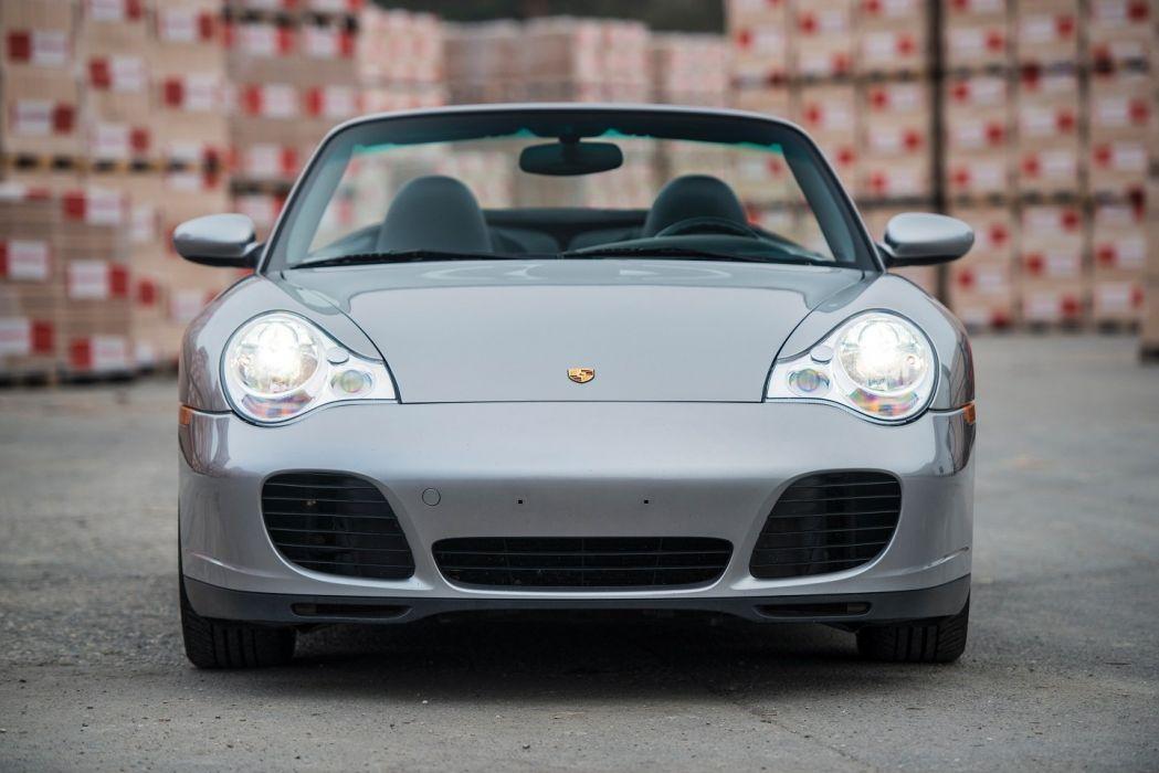 Porsche 911 Turbo (S) Cabriolet (996) cars 2003 wallpaper
