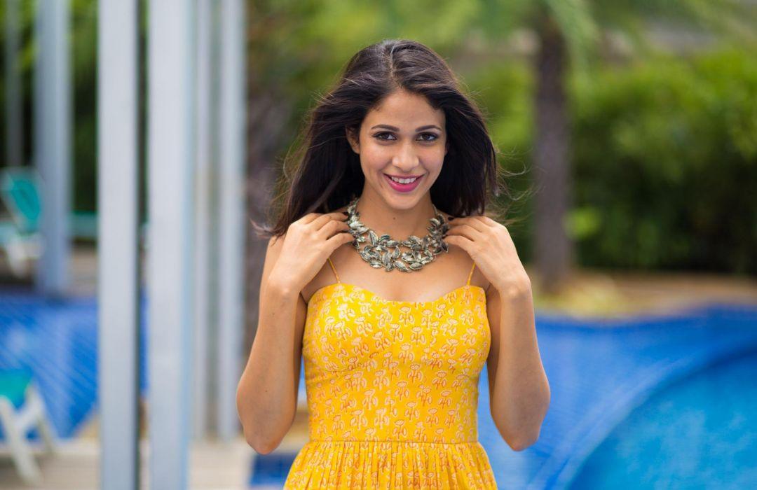 Lavanya-Tripathi bollywood actress model girl beautiful brunette pretty cute beauty sexy hot pose face eyes hair lips smile figure indian  wallpaper