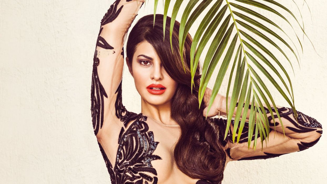 jacqueline fernandez bollywood actress model girl beautiful brunette pretty cute beauty sexy hot pose face eyes hair lips smile figure indian  wallpaper