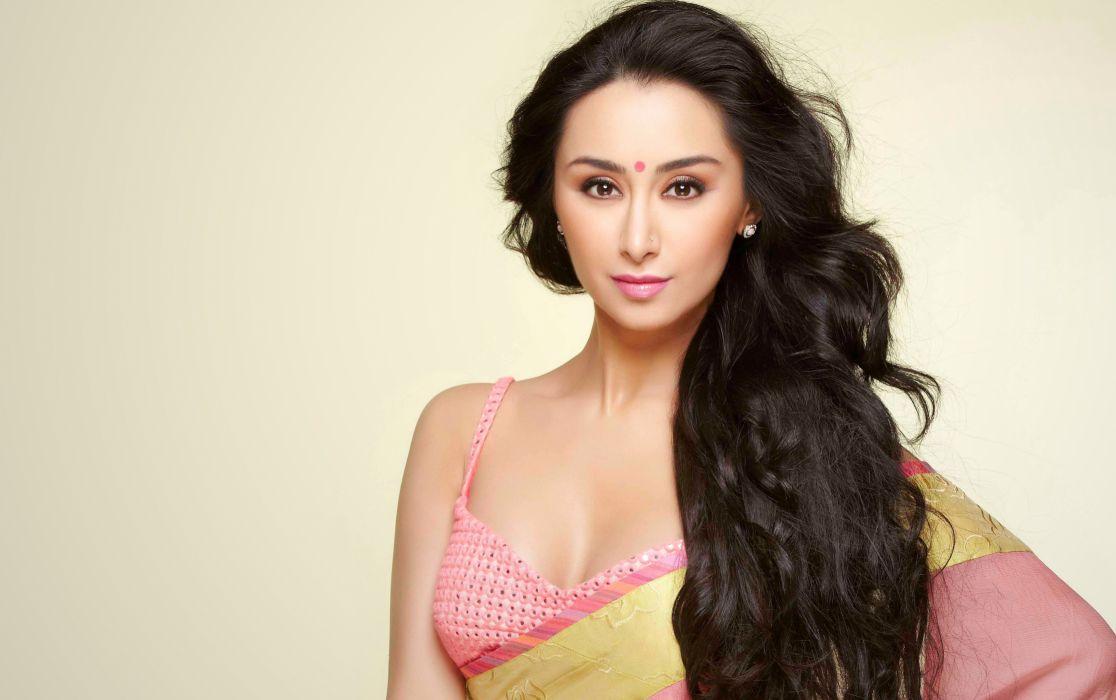 Mahsa-Kooshesh bollywood actress model girl beautiful brunette pretty cute beauty sexy hot pose face eyes hair lips smile figure indian  wallpaper