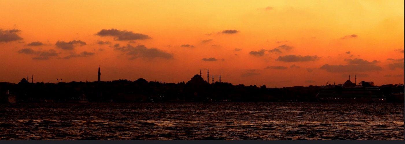 original turkey istanbul photo beauty city sky clouds sunset wallpaper