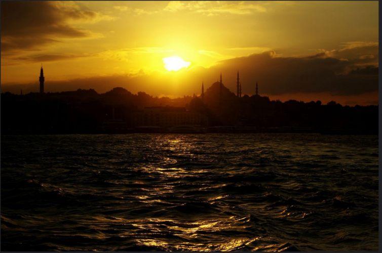 original turkey istanbul photo beauty city sky sunset wallpaper