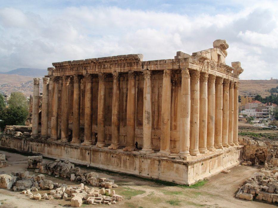 architecture building Greece Greek ancient Parthenon wallpaper