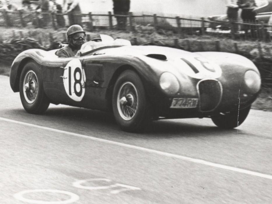 Jaguar C Type Classic Race Car wallpaper