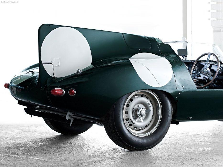 Jaguar D Type Classic Race Car wallpaper