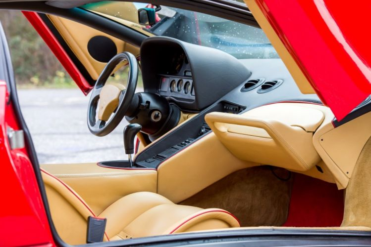Lamborghini Diablo 1990 red cars supercars wallpaper