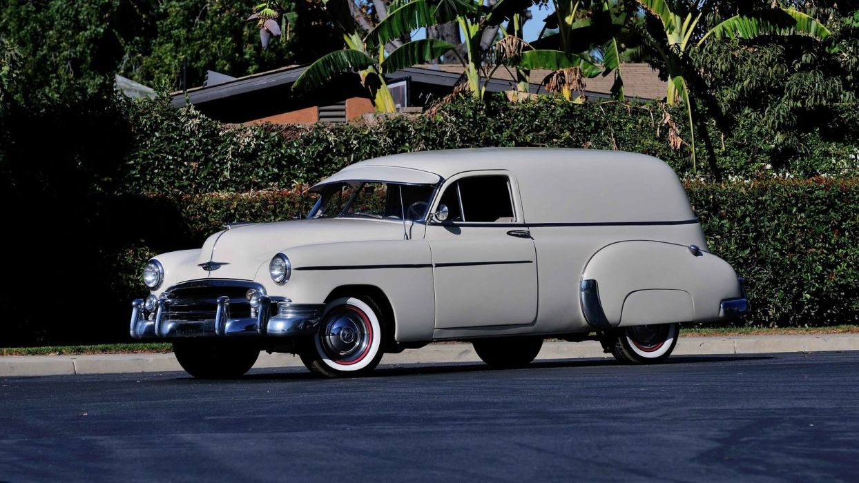 1950 Chevrolet Sedan Delivery cars classic wallpaper