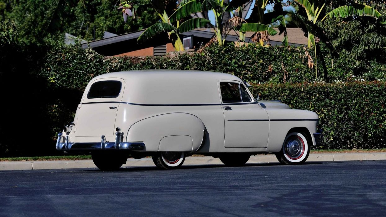 1950 Chevrolet Sedan Delivery cars classic wallpaper