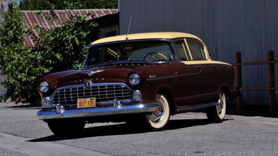 1955 Hudson Hornet Custom Sedan cars classic wallpaper