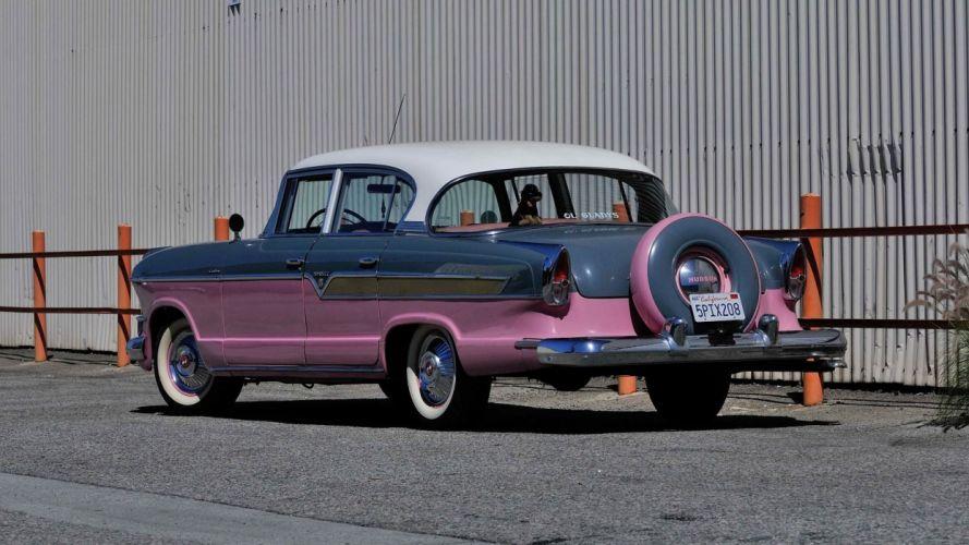 1956 Hudson Hornet Custom Sedan cars classic wallpaper