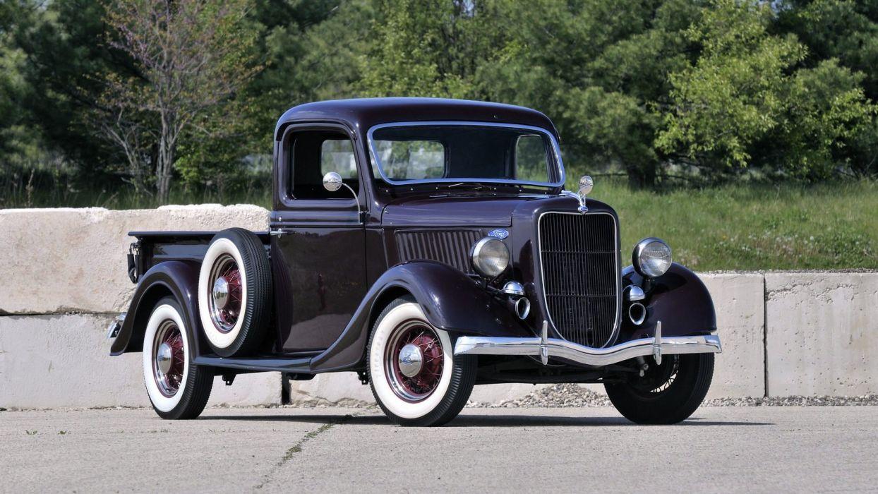 1936 Ford (V8) Model-67 Pickup cars classic wallpaper