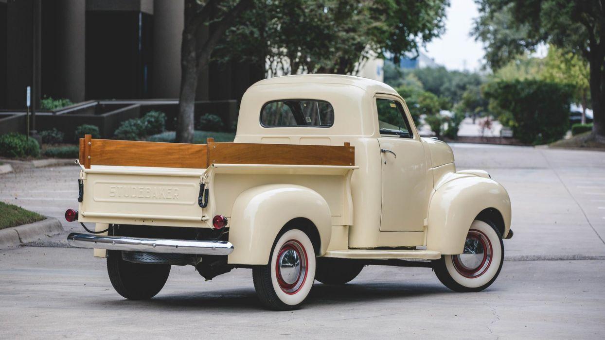 1947 Studebaker (M5) Pickup cars classic wallpaper