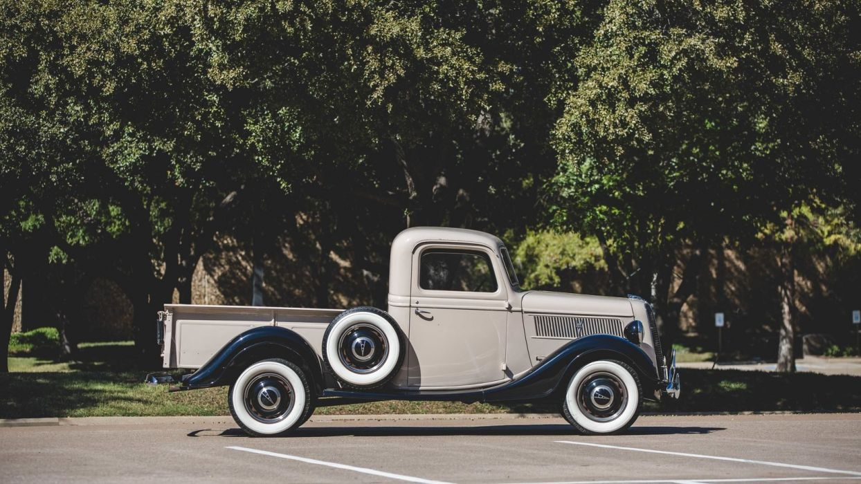 1937 Ford (V8) Deluxe Pickup cars classic wallpaper