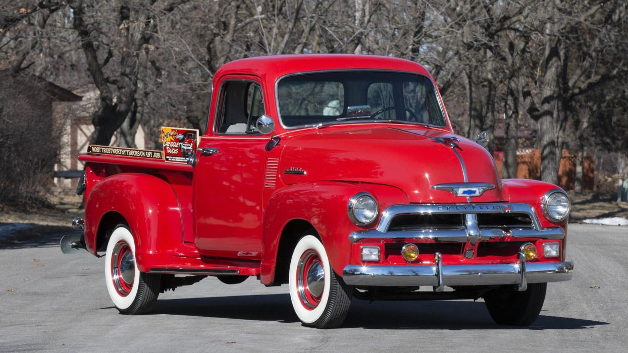 1954 Chevrolet 3100 pickup Truck cars classic wallpaper