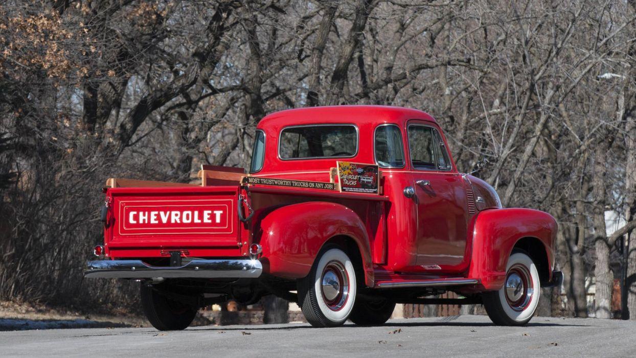 1954 Chevrolet 3100 pickup Truck cars classic wallpaper