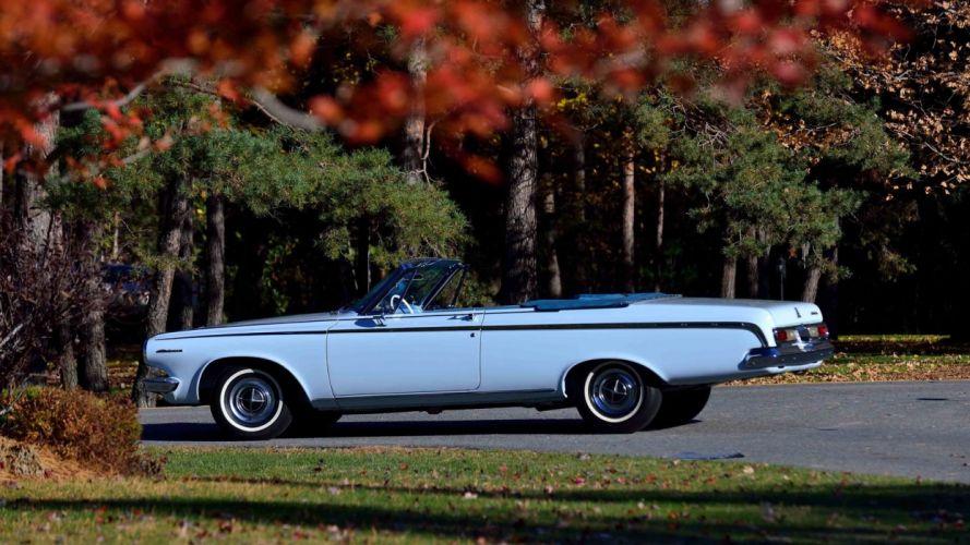 1963 Dodge Polara Convertible cars classic wallpaper