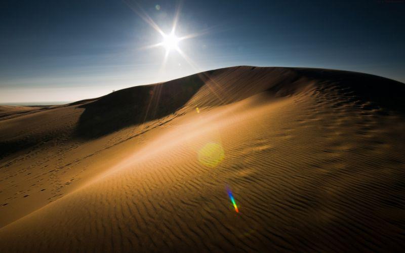 desierto arena sol wallpaper