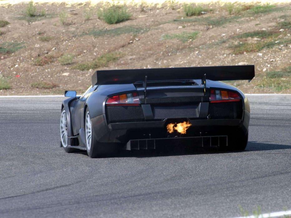 Lamborghini Murcielago RGT Race Car Backfire wallpaper