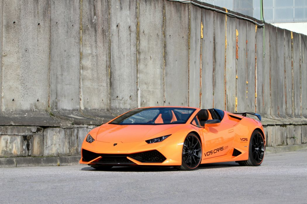 2016 vos performance lamborghini huracan spider cars modified wallpaper