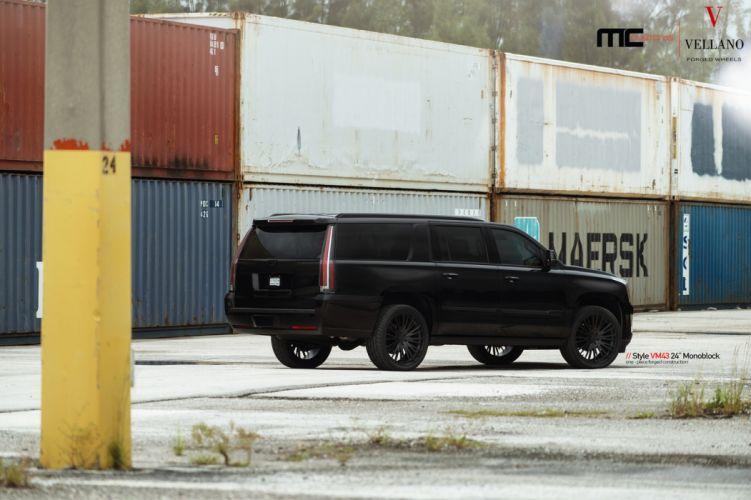 cadillac escalade cars suv black wallpaper