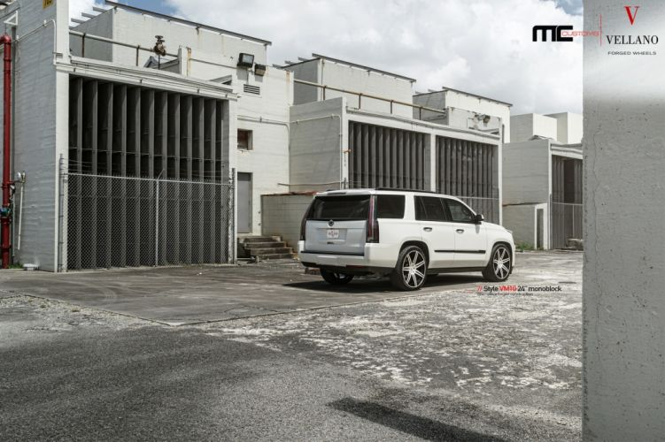 CADILLAC ESCALADE cars white suv wallpaper