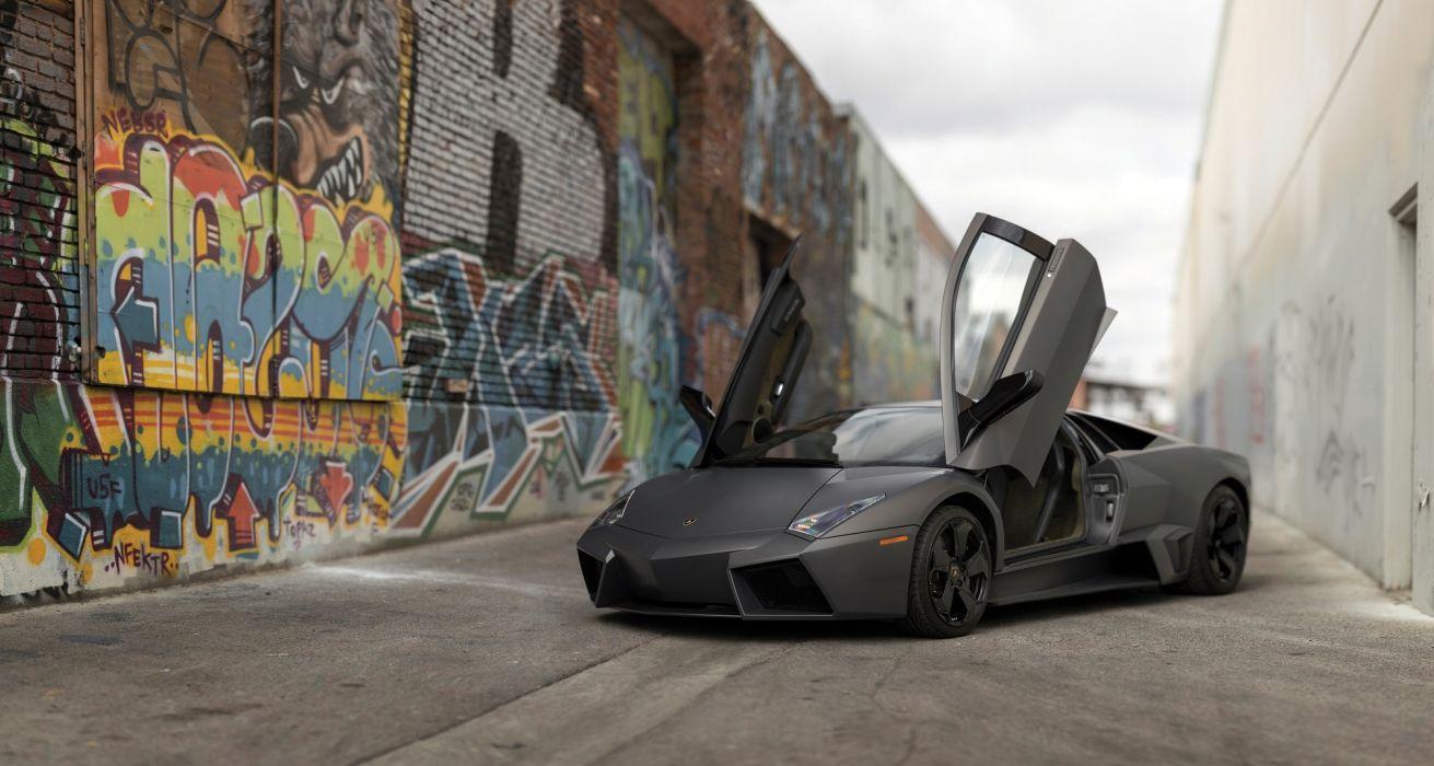 Lamborghini Reventon cars supercars 2008 wallpaper