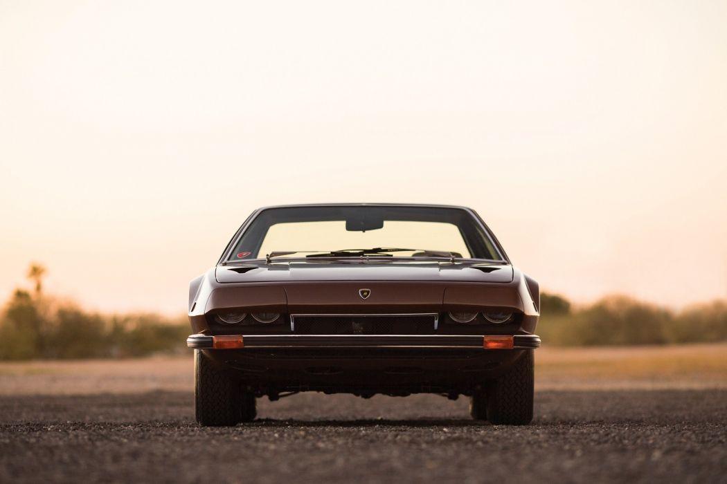 Lamborghini Jarama 400 (GT) cars 1970 wallpaper