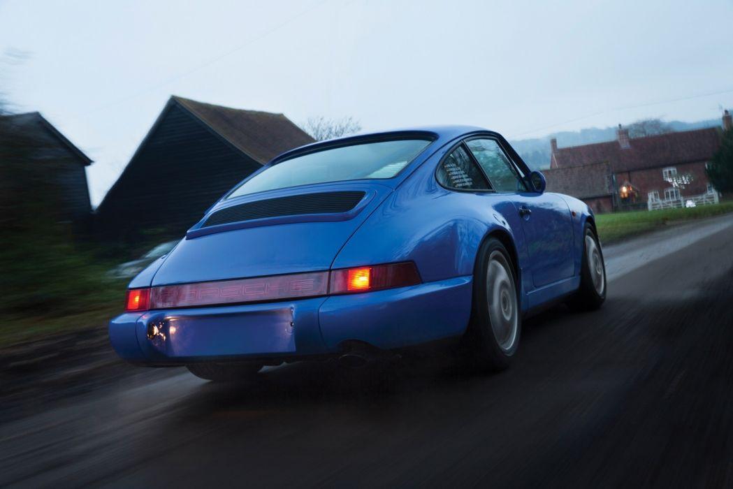 Porsche 911 Carrera (2) Cup (964) cars 1990 wallpaper