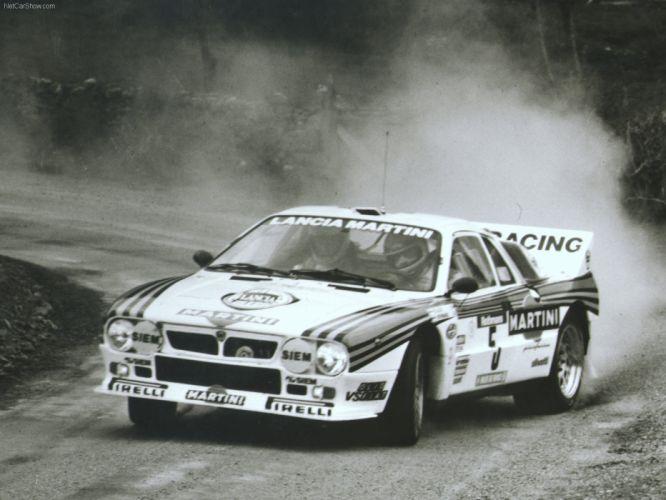 Lancia 037 Group B Rally wallpaper