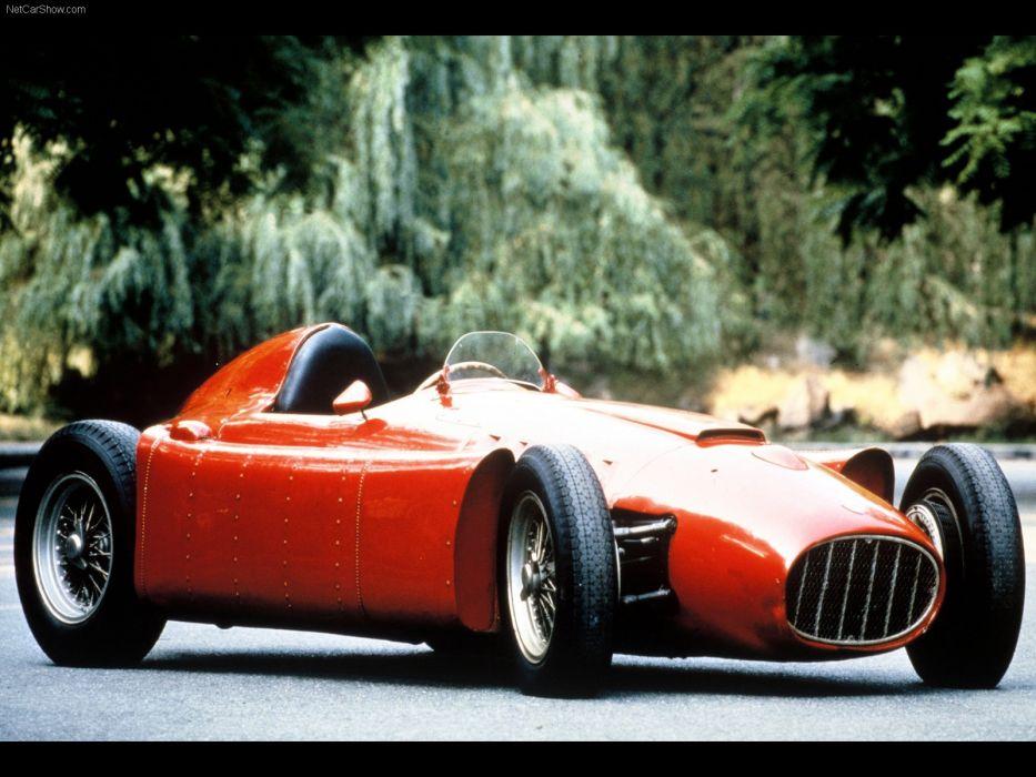 Lancia D50 Classic Formula One Race Car wallpaper