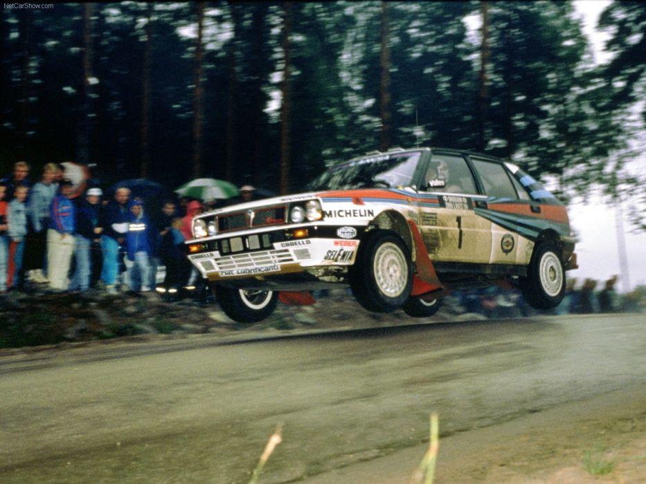 Lancia Delta Integrale HF Rally wallpaper