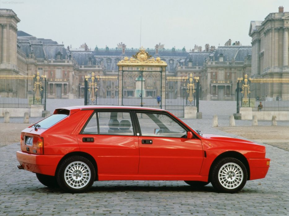 Lancia Delta Integrale HF 1992  wallpaper