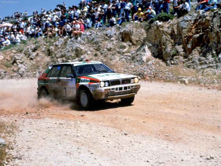 Lancia Delta Integrale HF Rally wallpaper