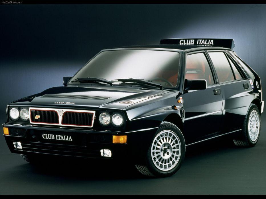 Lancia Delta Integrale HF Club Italia  wallpaper