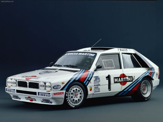 Lancia Delta S4 Group B Rally wallpaper