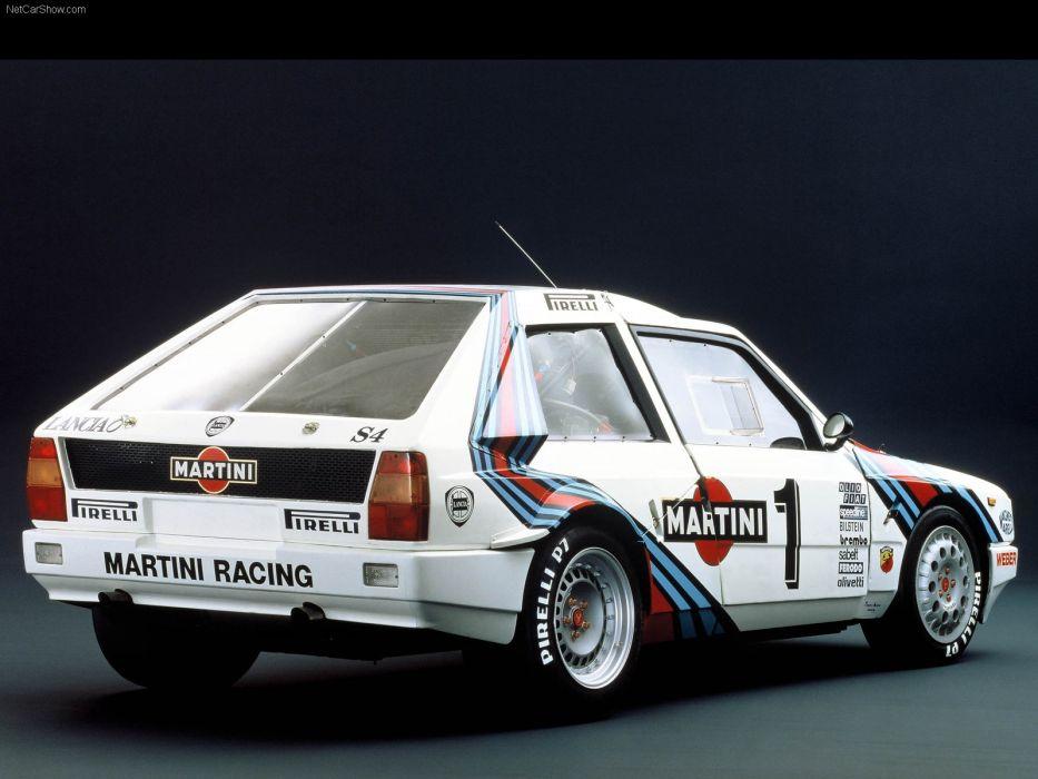 Lancia Delta S4 Group B Rally wallpaper